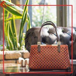 کیف تمام چرم زنانه