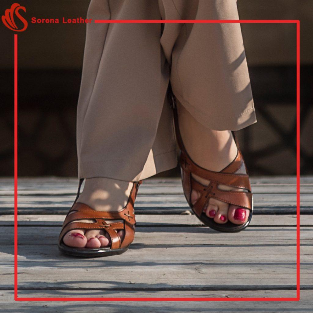 کفش چرم سورنا 859