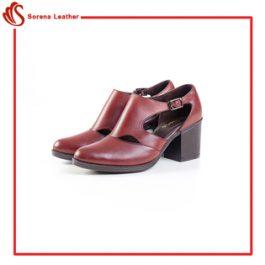 کفش زنانه چرم جدید
