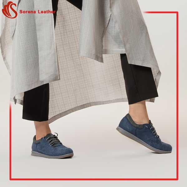 کفش اسپورت چرم زنانه