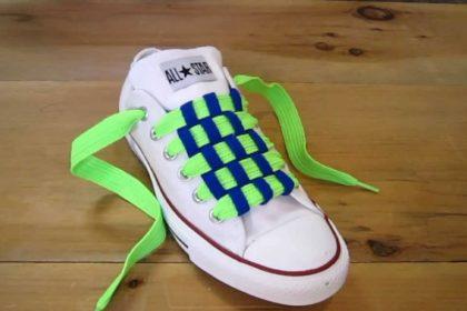 آموزش بستن بند کفش