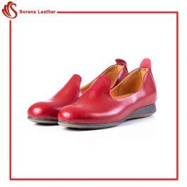 کفش چرم زنانه جدید