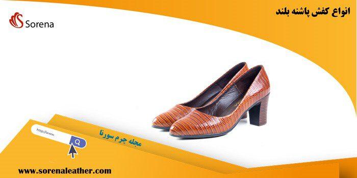 کفش های پاشنه دار دخترانه و زنانه مدل های متنوعی دارد